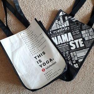 2 Small Lululemon Bags for $20